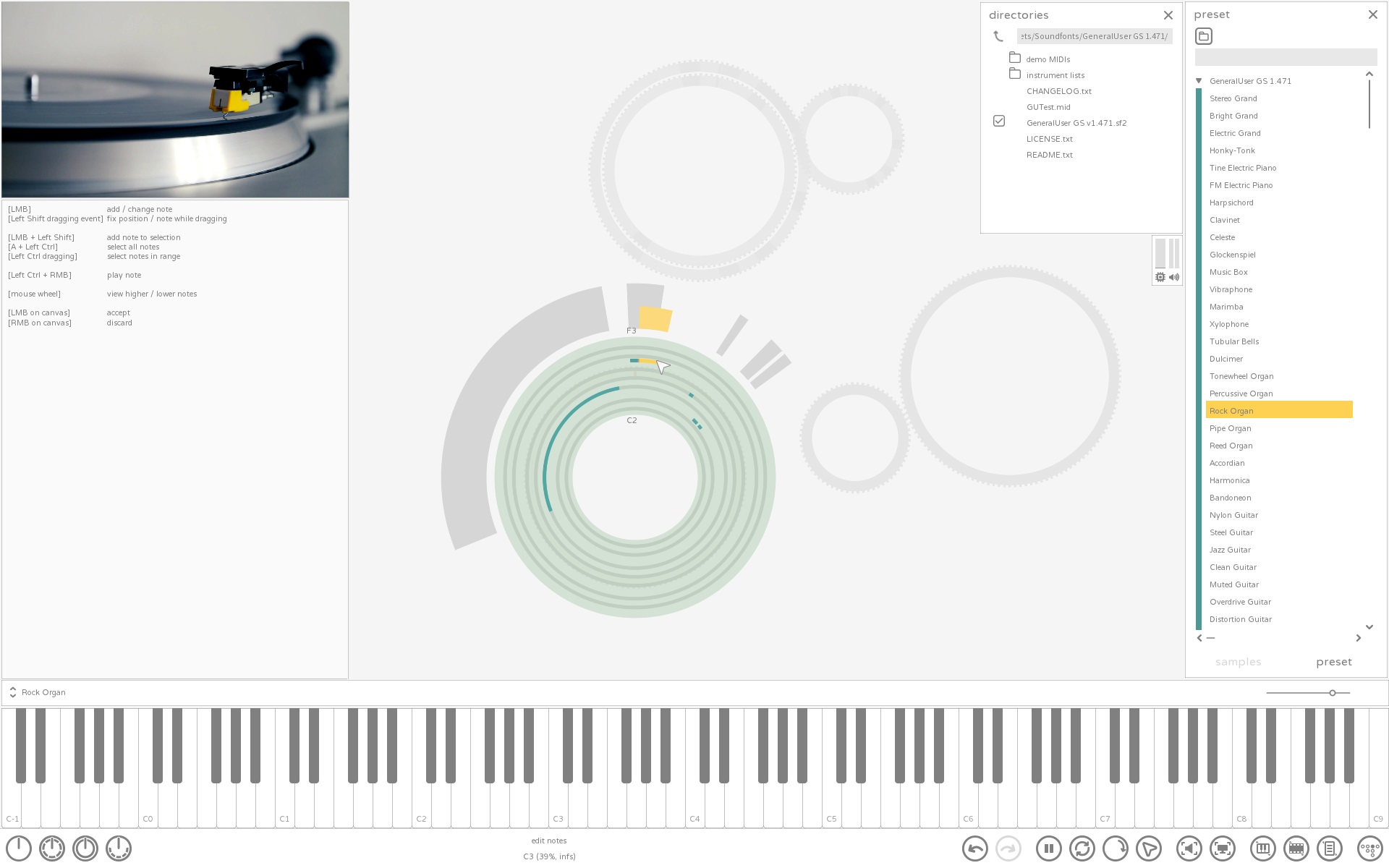 foreverloops MIDI